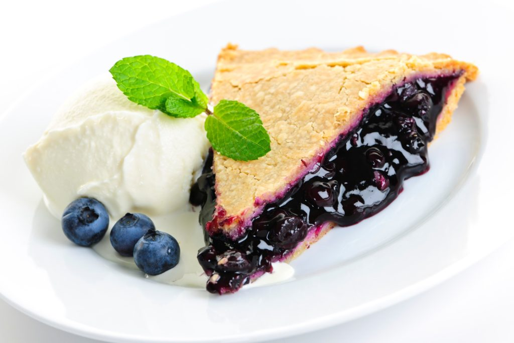 Mmm.  Blueberry pie